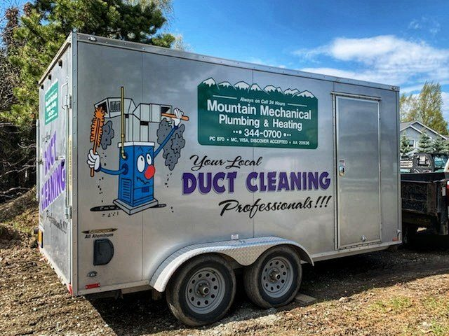 Duct Cleaning Trailer Mountain Mechanical